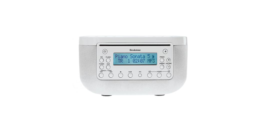 brookstone-bedside-radio